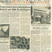 Dattelner Zeitung, 1./2. Oktober 1960
