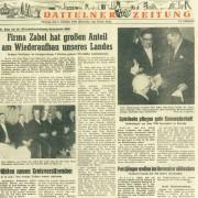 Dattelner Zeitung, 3. Oktober 1960