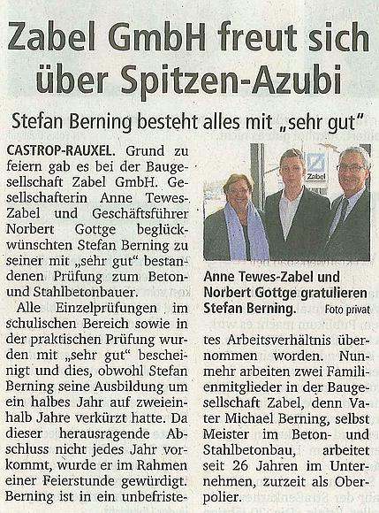 Spitzen-Azubi