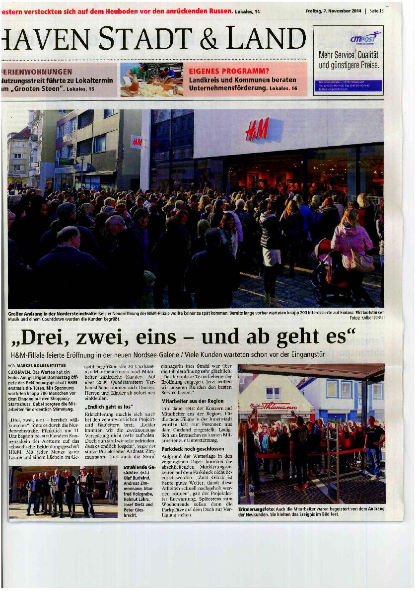 Zeitungsartikel_CN_2014.11.07