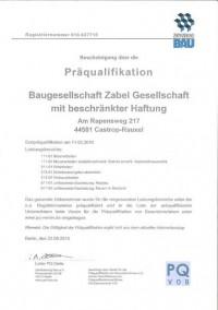 Zertifizierung Bau e.V.