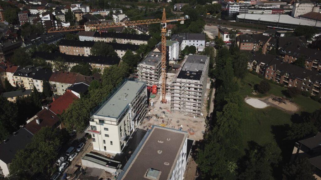 Drei Wohnhäuser mit Tiefgarage in Bochum